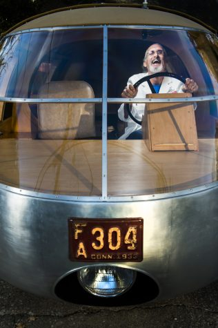 Photo of the Day: Driving the Dymaxion