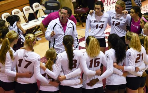 SIU volleyball drops 4-setter to Loyola for season sweep