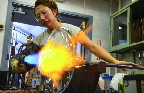 Photo of the Day: Glassblowing in Pulliam