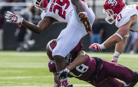 Coyotes prey on football Salukis in 42-0 shutout