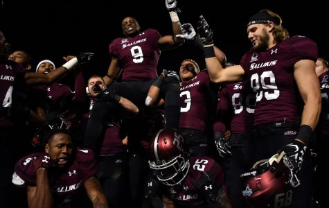 SIU football wins on senior day with dramatic second-half comeback