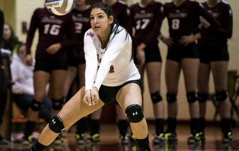 SIU volleyball closes out regular season with tough five-set loss
