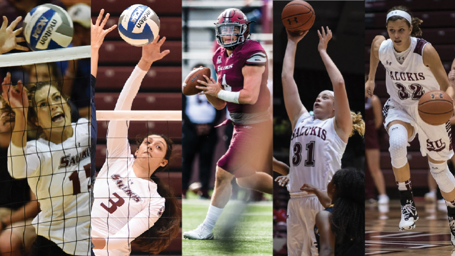 Multiple Salukis take home weekly and yearly honors