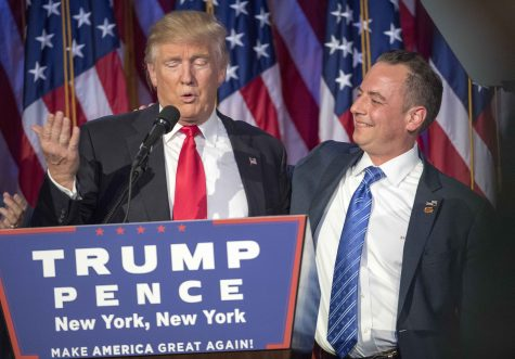 Priebus named White House chief of staff