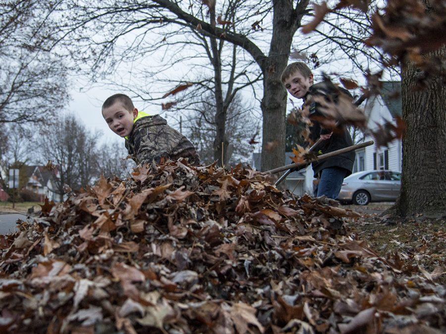 Photo of the Day: Autumn raking