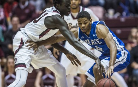 Saluki comeback falls short as they suffer first conference loss at Drake