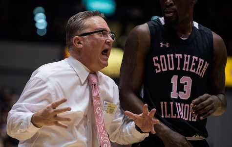 Salukis defeated by Bradley, 68-62