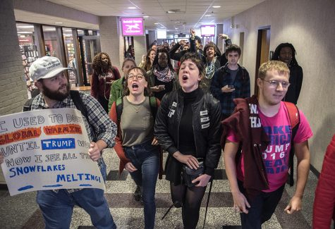 Gallery: Walkout on President Donald Trump