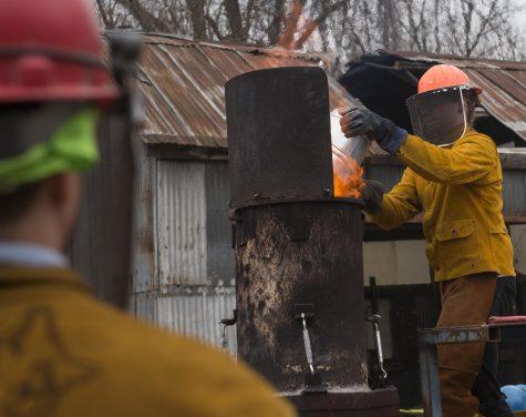 Photo of the Day: Melting iron