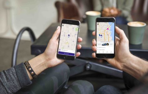 Ride-share service applications now available through city