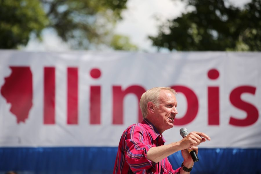 Illinois+Gov.+Bruce+Rauner+speaks+at+the+Illinois+State+Fair+in+Springfield%2C+Ill.%2C+on+August+17%2C+2016.+%28Anthony+Souffle+%7C+Chicago+Tribune+%7C+TNS%29