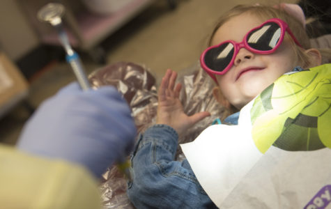 Dental students provide free dental care to low-income children