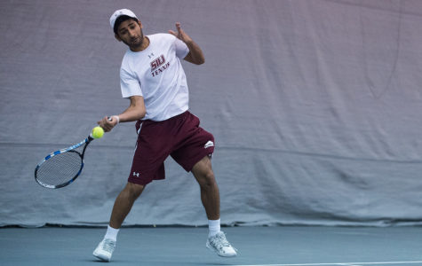Tennis freshman talks first and last semester at SIU