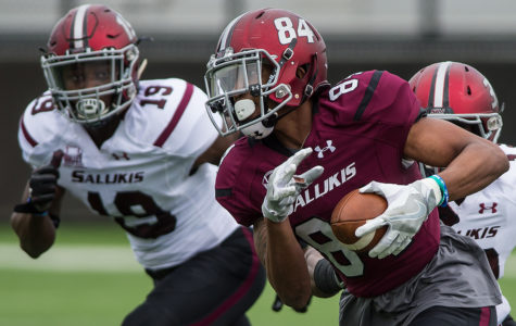SIU's football kicks off spring practice with first scrimmage