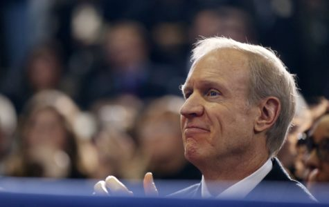 Rauner spends night in Quincy veterans home plagued by deadly water problems