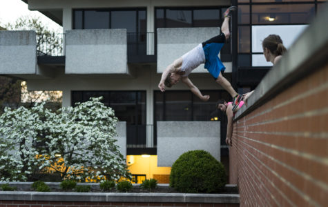 Photo of the Day: Gymnastics outside the gym