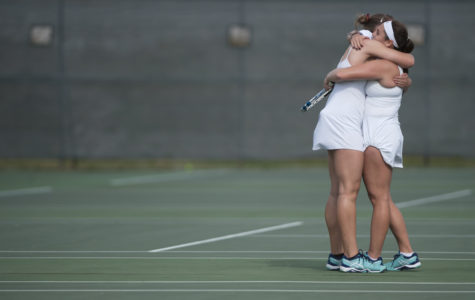 SIU women's tennis sweeps Missouri State in final home match in program history