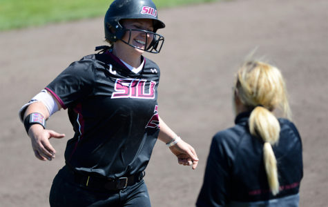 Saluki softball loses first game, carries big lead in second of rain-postponed doubleheader