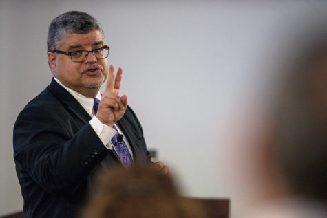 Colwell makes case for chancellor spot