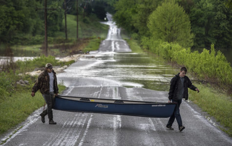 Photo of the Day: Canoeing in the flood