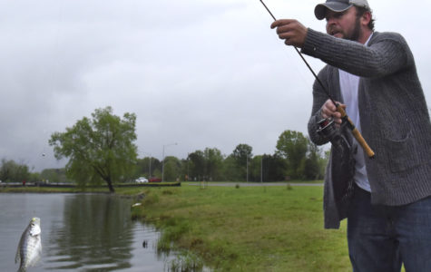 Photo of the Day: Fishing in the rain