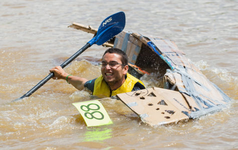 Video: Great Cardboard Boat Regatta 2017