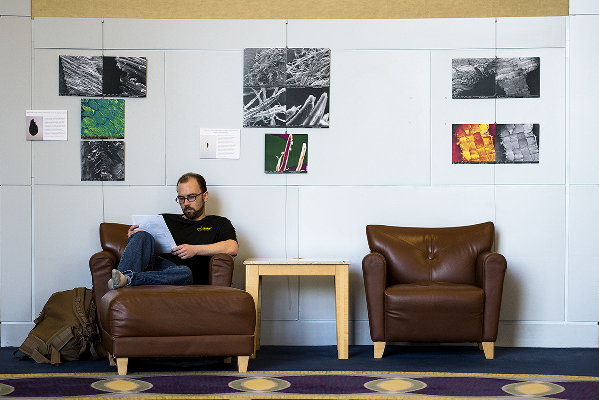 New library exhibit showcases campus history