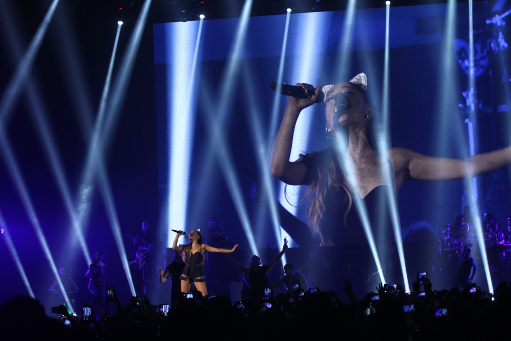 Ariana Grande performed in Jakarta in 2015 for her Honeymoon Tour.