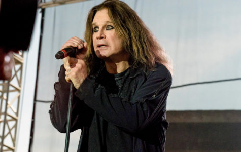 Ozzy Osbourne barks at the Moonstock