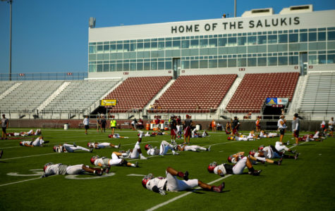 SIU football season primer with head coach Nick Hill