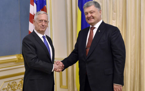 Mattis vows support for Ukraine but stops short of promising weapons