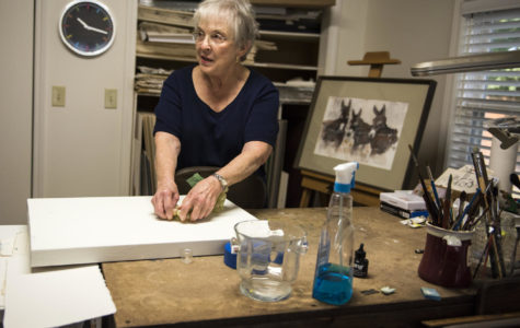 Local 82-year-old watercolor artist to have third exhibit in Carbondale
