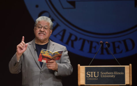 Poet laureate, former gang member speaks on campus about importance of youth guidance