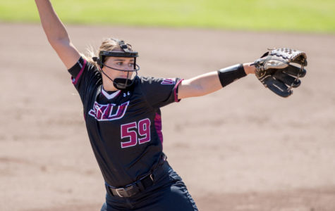 Saluki softball splits doubleheader with Loyola