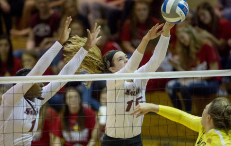 Salukis drop fifth straight conference match to Evansville