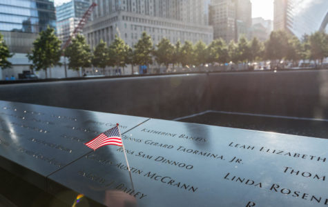 Families gather at Ground Zero for 9/11 ceremony