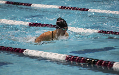 SIU women's swim & dive shines against U of I and ISU
