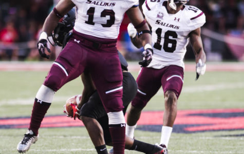 Salukis soar past Redhawks 35-17 for second win of the season