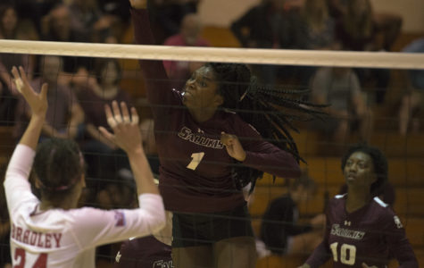 Saluki volleyball falls to SEMO