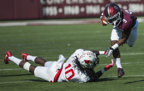 Gallery: Salukis ruffle Redbirds' feathers with 42-7 Homecoming win