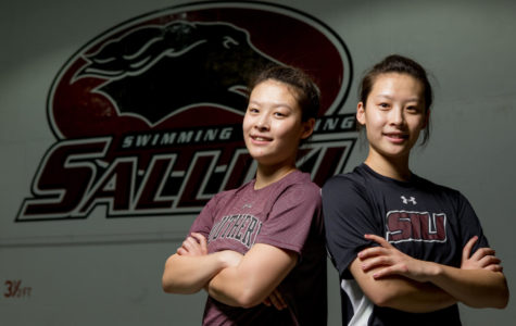 Player profiles: Saluki divers Beibei and Baobao Ji