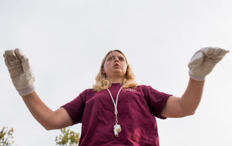 Madison Riden: The 'mom' of the Marching Salukis