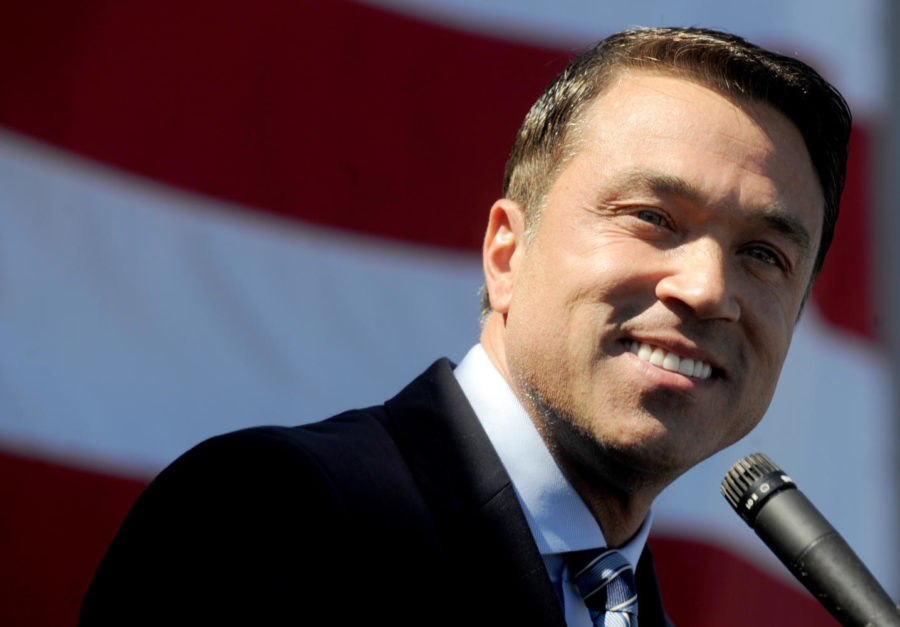 Former Rep. Michael Grimm, a Staten Island Republican who went to prison on felony tax fraud charges, announced on Sunday, Oct. 1, 2017, he is running for his old job in New York City, N.Y. (Dennis Van Tine/Abaca Press/TNS)