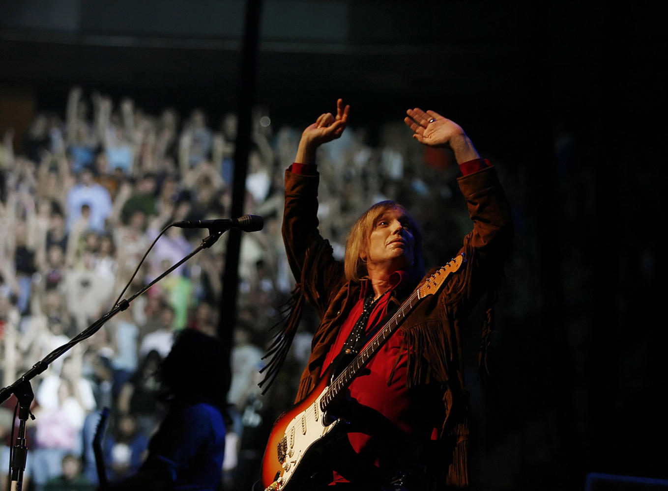 Rock legend Tom Petty jams for a sold out crowd, June 26, 2006, at Xcel Center in St. Paul, Minn. (Jerry Holt/Minneapolis Star Tribune/TNS)