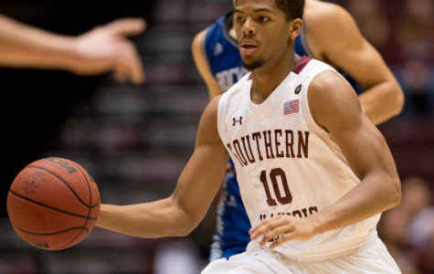 Saluki men's basketball rolls over Rockhurst 98-68 in home opener