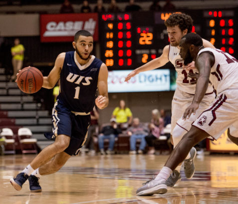 Gallery: SIU men's basketball escapes narrow victory against UIS