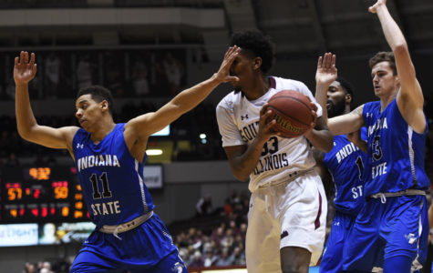 Gallery: Salukis defeat Indiana State, 82-77