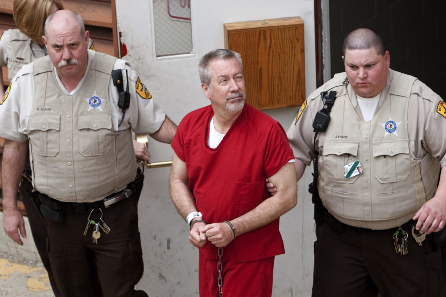 Convicted+killer+Drew+Peterson%2C+seen+here+in+2009%2C+was+sentenced+in+2013+for+murdering+his+third+wife%2C+Kathleen+Savio%2C+who+was+found+dead+in+2004.+%28Zbigniew+Bzdak%2FChicago+Tribune%2FTNS%29