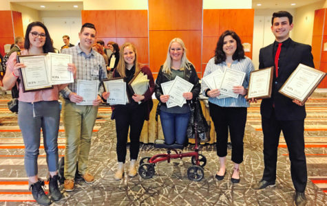 Daily Egyptian wins big at annual Illinois College Press Association awards
