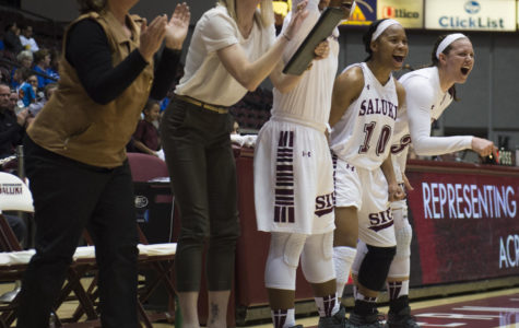 Saluki women blowout Evansville on Senior Day